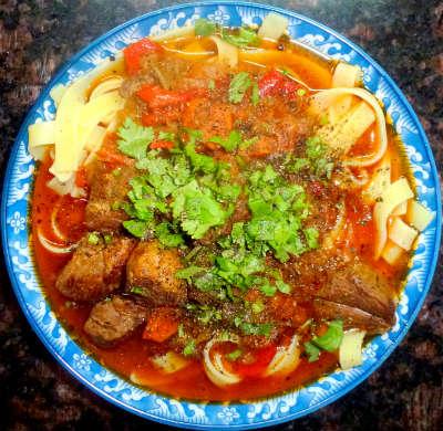 Рецепт лагмана узбекского пошагово